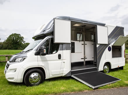 The all new Tatton Classic Horsebox - 3.5, 4.25 and 4.5 tonne options