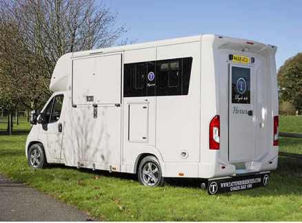 Tatton Dayrider Horsebox -available in 3.5, 4.25 and 4.5 tonne options
